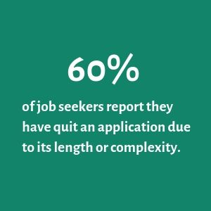 78% of candidates say the overall candidate experience they receive is an indicator of how a company values its people. (1)