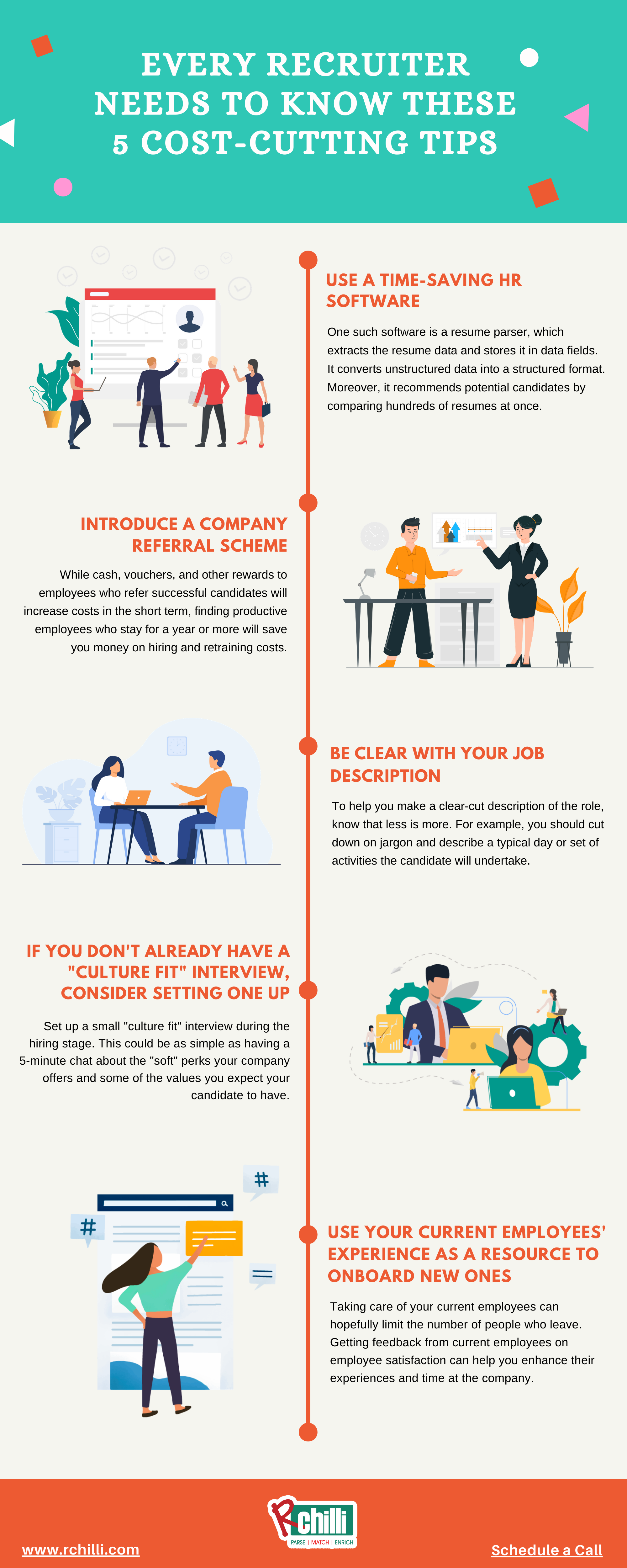 Cost cutting tips for recruiters