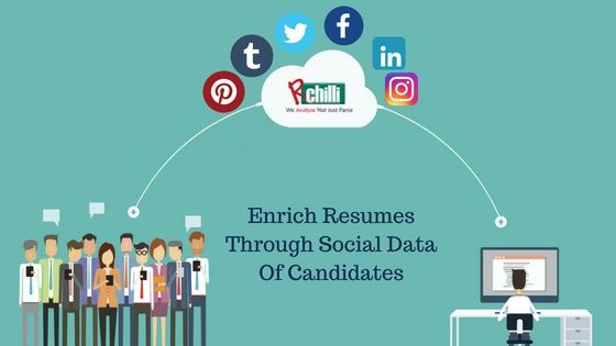 Enrich Resumes Through Social Data Of Candidates