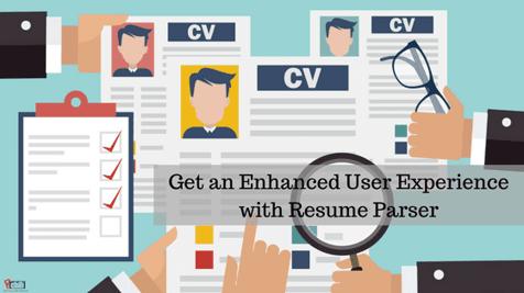 Resume Parser for enhanced user experience