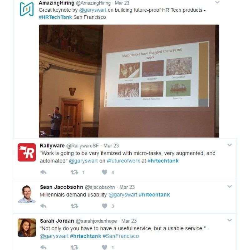 Some key Tweets