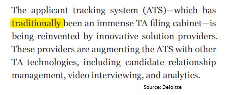 Deloitte insights on ATS