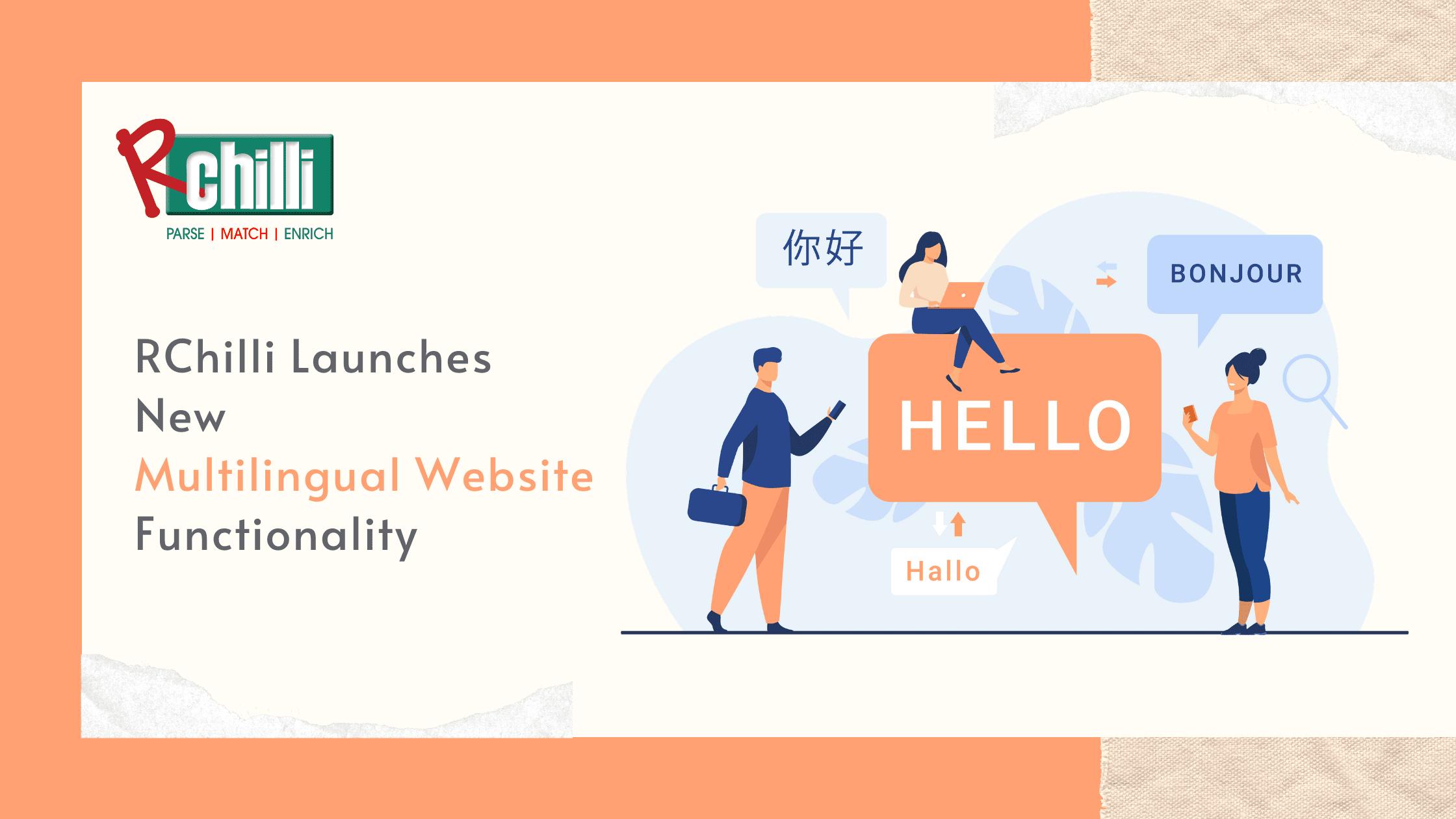RChilli multilingual website
