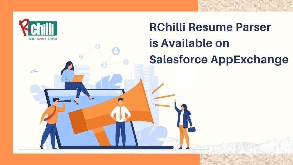 RChilli resume parser on Salesforce AppExchange