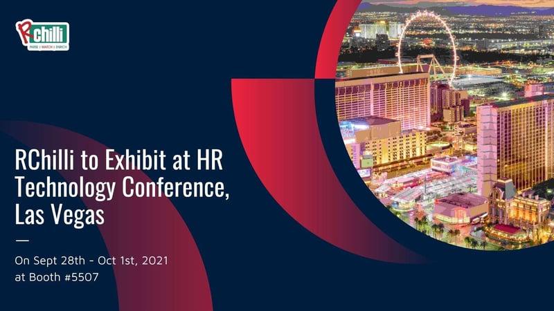 RChilli to exhibit at HR tech Conf, Las Vegas