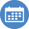 calendar-circle-blue-512