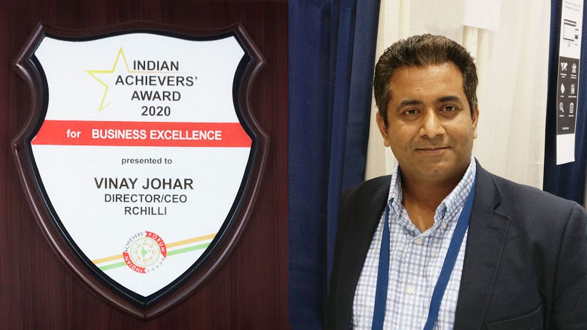 RChilli CEO Wins Indian Achievers' Award