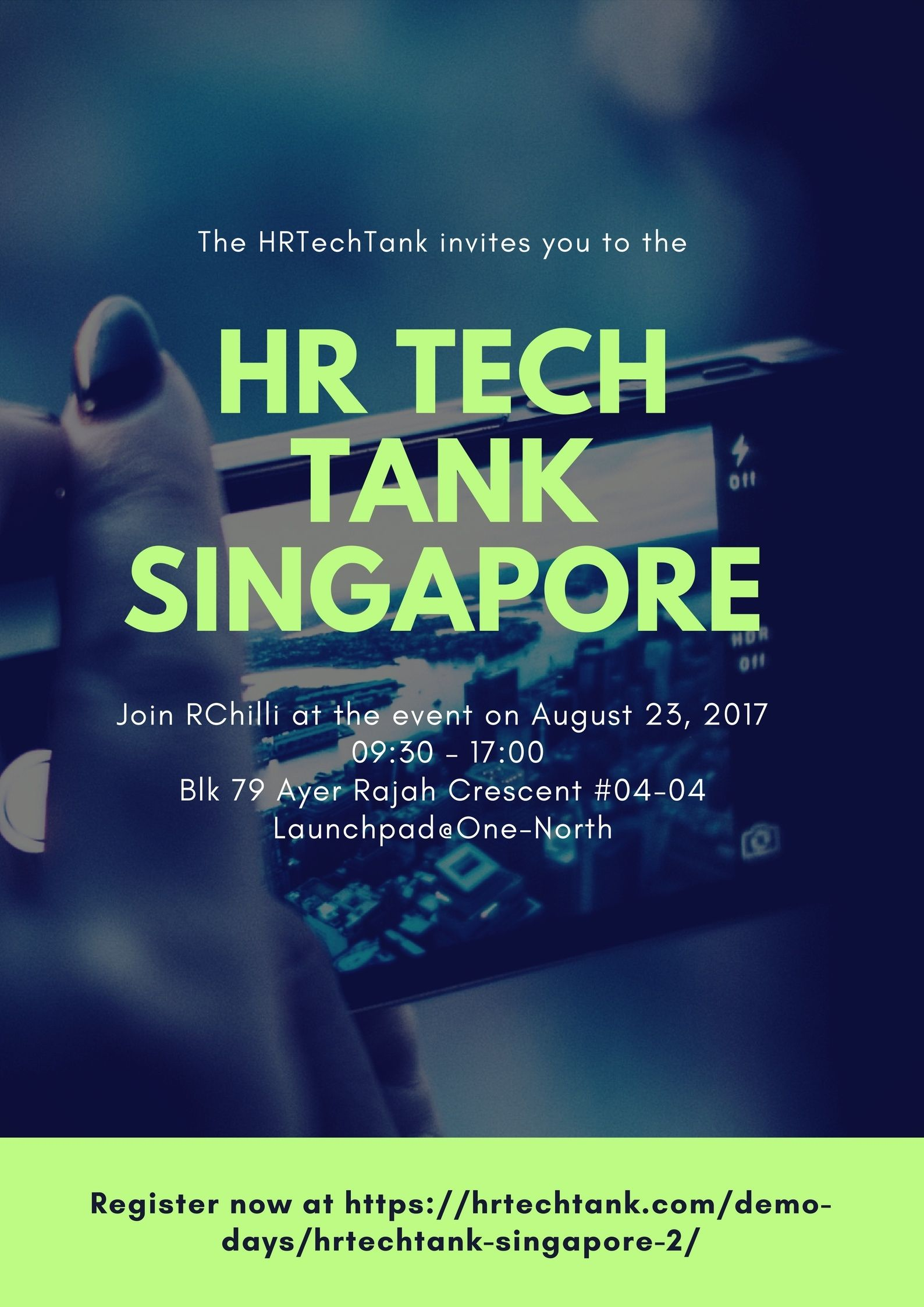 Hey! Are you attending HRTechTank?