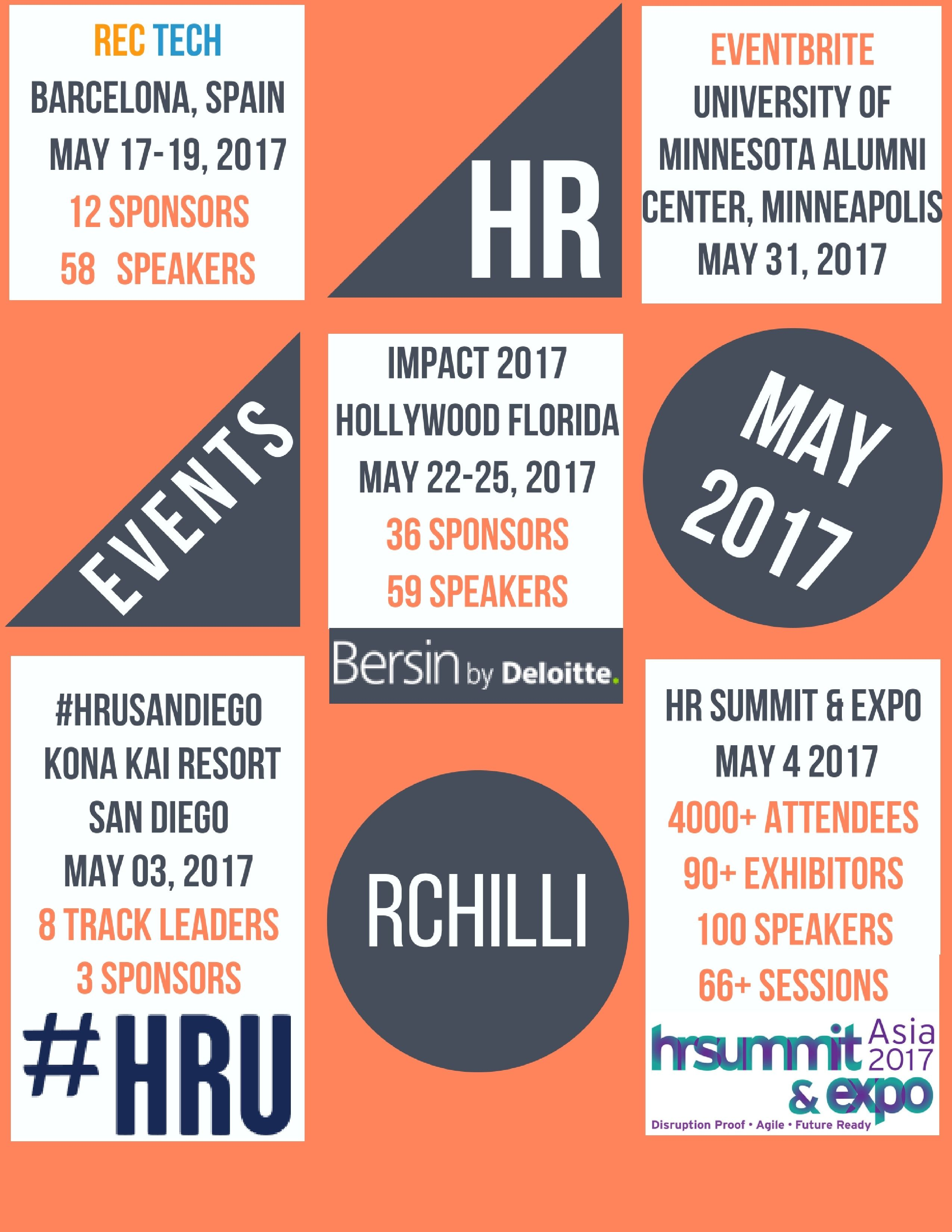 HR EVENTS - MAY 2017