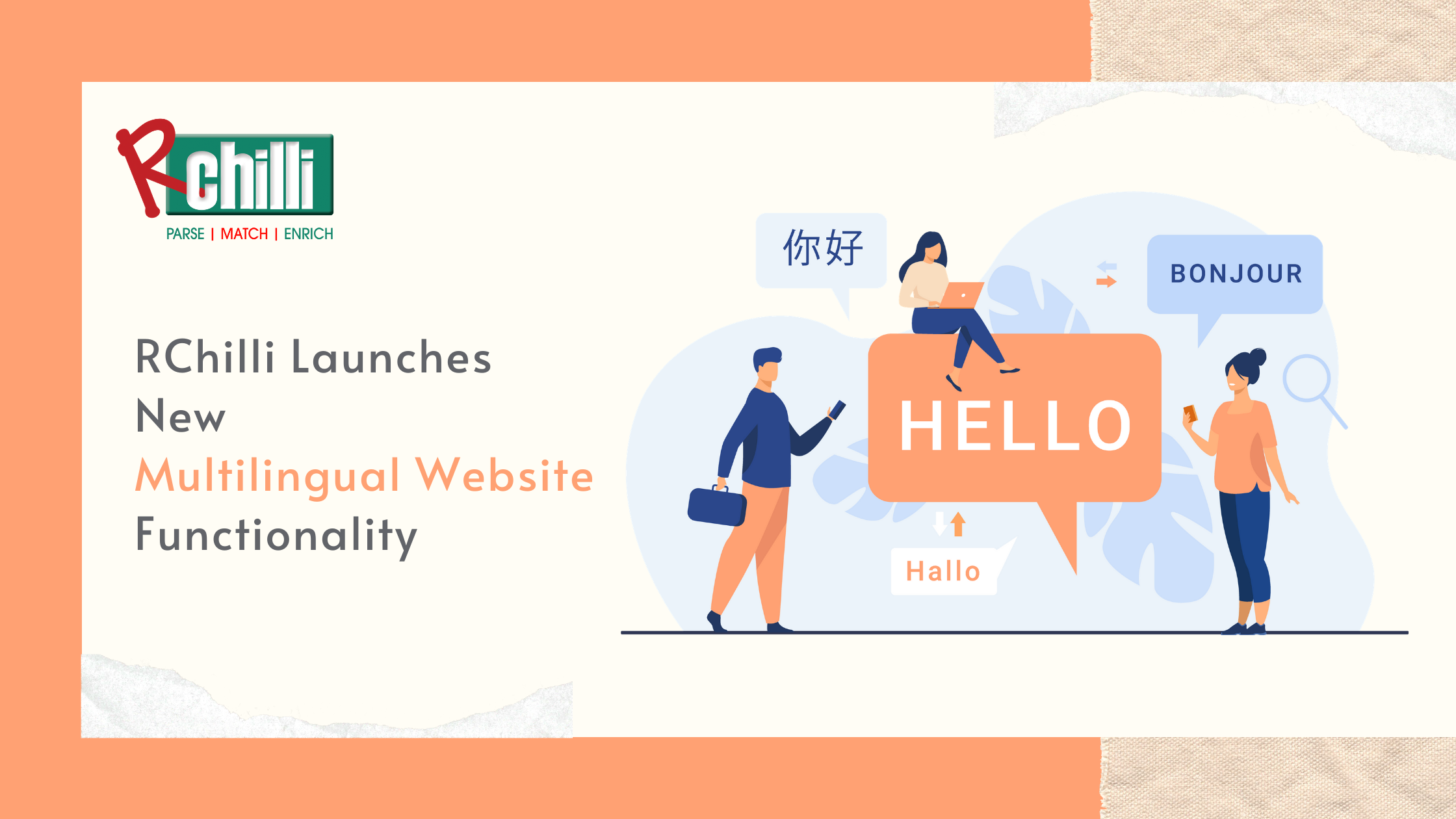 RChilli Launches New Multilingual Website Functionality