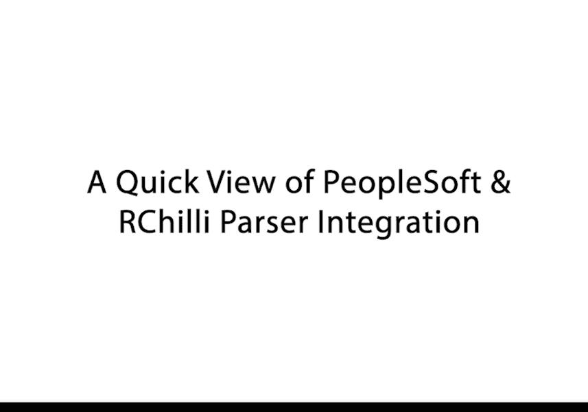 Integration Video Image