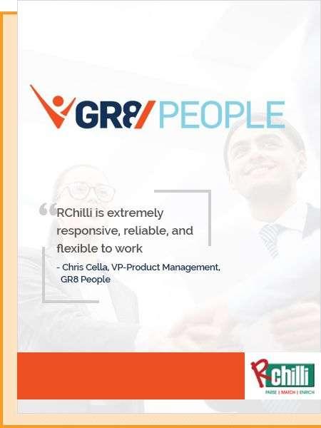 RChilli's resume parser for gr8people1